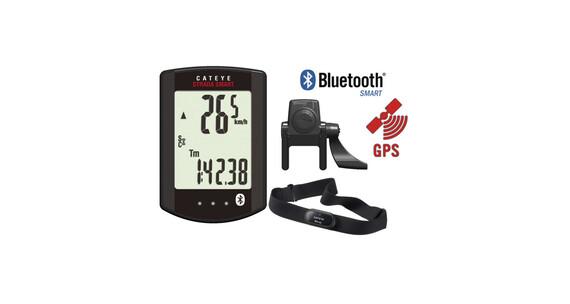 CatEye Strada Smart CC-RD500B Fahrradcomputer + Trittfrequenz + Herzfrequenz schwarz